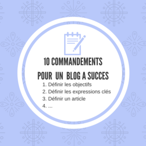 10 actions pour optimiser son blog